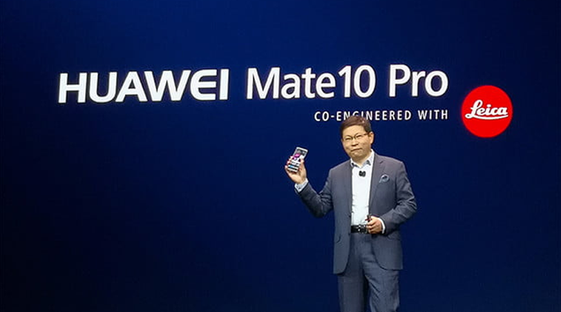 CES 2018 Huawei